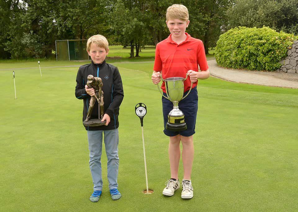 Shannon Junior Open Winners.